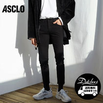 ASCLO Street Style Plain Cotton Skinny Fit Pants