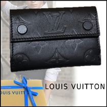 Louis Vuitton 2017-18AW STYLISH SMALL WALLET black one size wallet