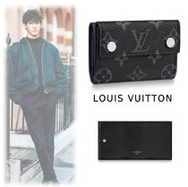 Louis Vuitton 2019-20AW MONOGRAM COMPACT WALLET black one size wallet