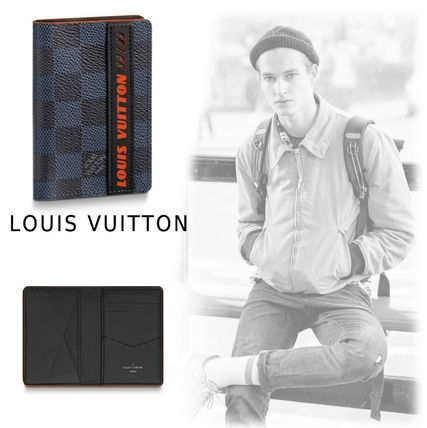 Louis Vuitton Card Holders 2019-20AW DAMIER SPORTY CARD HOLDER damier one size holder