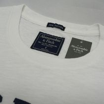 Abercrombie & Fitch Crew Neck Crew Neck Street Style Cotton Short Sleeves Logo Surf Style 5