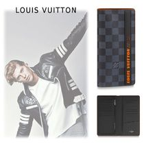 Louis Vuitton DAMIER 2019-20AW PORTEFEUILLE BRAZZA  LONG WALLET damier one size