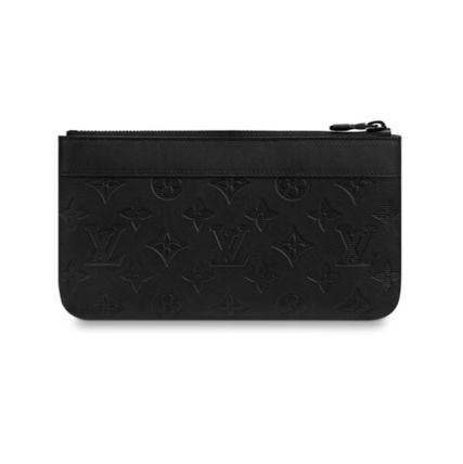 Louis Vuitton Clutches 2019-20AW STYLISH SMALL CLUTCH BAG black one size Clutches 2