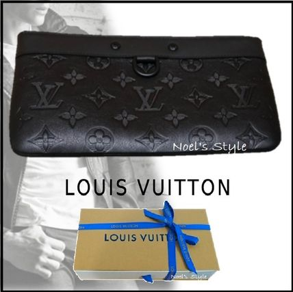 Louis Vuitton Clutches 2019-20AW STYLISH SMALL CLUTCH BAG black one size Clutches