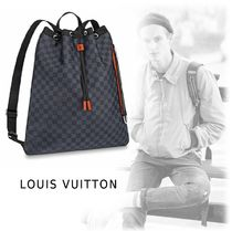 Louis Vuitton DAMIER 2019-20AW DAMIER SPORTY BACKPACK damier one size bag