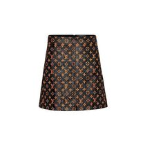 Louis Vuitton Monogram Leather Skirts