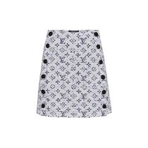 Louis Vuitton Short Monogram Skirts