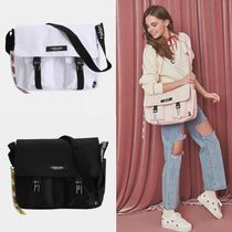 SHOOPEN Street Style Collaboration A4 Shoulder Bags