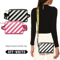 Off-White Casual Style Shoulder Bags