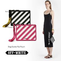 Off-White Street Style Pouches & Cosmetic Bags