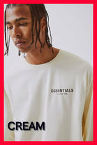 FEAR OF GOD ESSENTIALS Monogram Unisex Street Style Collaboration Long Sleeves