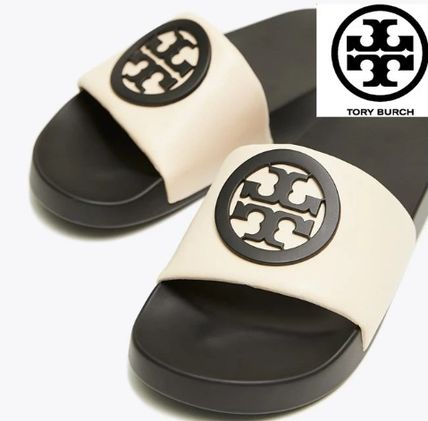 7416ef8a5 Tory Burch 2019 SS Bi-color Shower Shoes Flat Sandals by ...