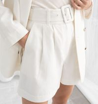 & Other Stories Casual Style Linen Plain Shorts