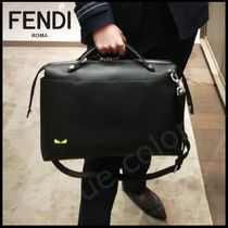 FENDI BY THE WAY Calfskin 3WAY Plain Logo Messenger & Shoulder Bags
