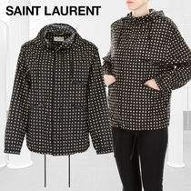 Saint Laurent Star Casual Style Street Style Jackets