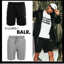 BALR Unisex Plain Cotton Shorts