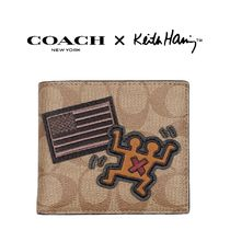 Coach Blended Fabrics Collaboration Folding Wallets