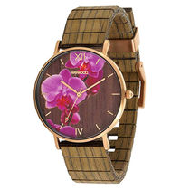 WeWOOD Unisex Round Quartz Watches Analog Watches