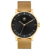 adidas Unisex Round Quartz Watches Stainless Analog Watches