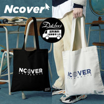 ncover Unisex Street Style A4 Plain Totes