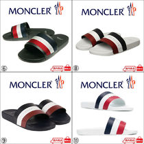 MONCLER Unisex Shower Shoes Flat Sandals