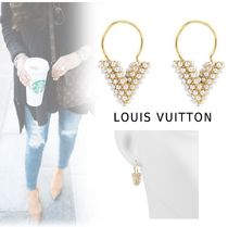 Louis Vuitton 2019-20AW ESSENTIAL V ELEGANT PIERCINGS gold free piercing