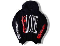 VLONE Pullovers Unisex Street Style Long Sleeves Cotton