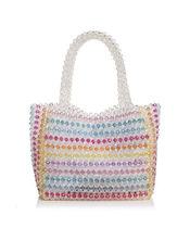 Aqua Casual Style With Jewels Totes