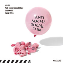 ANTI SOCIAL SOCIAL CLUB Unisex Street Style Party Supplies