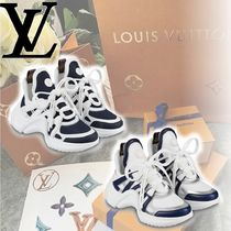 Louis Vuitton Casual Style Plain Leather Low-Top Sneakers