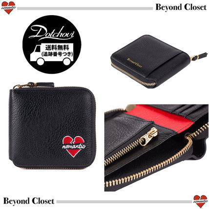 Unisex Street Style Folding Wallets