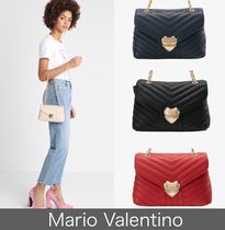 Mario Valentino Chain Plain Party Style Party Bags