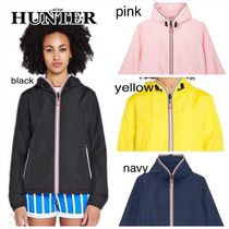 HUNTER Short Casual Style Street Style Plain Jackets