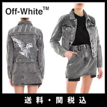 Off-White Casual Style Denim Street Style Jackets