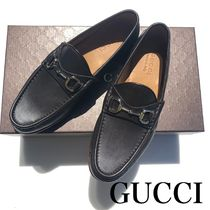 GUCCI Plain Toe Loafers Plain Loafers & Slip-ons