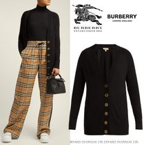Burberry Cashmere Long Sleeves Cashmere
