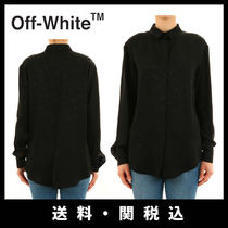 Off-White Casual Style Long Sleeves Shirts & Blouses