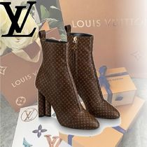 Louis Vuitton MONOGRAM Monogram Casual Style High Heel Boots