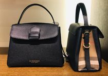 Burberry CAMBERLEY Small Grainy Leather And House Check Tote Bag