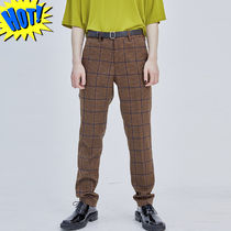 OPEN THE DOOR Slax Pants Other Check Patterns Street Style Slacks Pants
