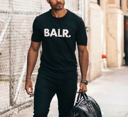 BALR Crew Neck Crew Neck Street Style Cotton Short Sleeves 7