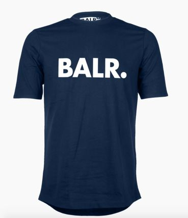 BALR Crew Neck Crew Neck Street Style Cotton Short Sleeves 10