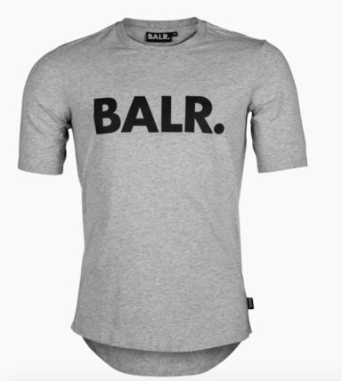 BALR Crew Neck Crew Neck Street Style Cotton Short Sleeves 12