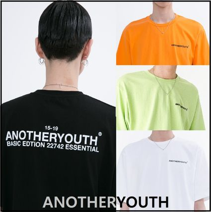 ANOTHERYOUTH More T-Shirts Unisex Street Style Cotton Oversized T-Shirts