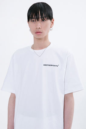 ANOTHERYOUTH More T-Shirts Unisex Street Style Cotton Oversized T-Shirts 4
