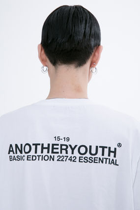 ANOTHERYOUTH More T-Shirts Unisex Street Style Cotton Oversized T-Shirts 6