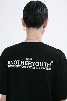 ANOTHERYOUTH More T-Shirts Unisex Street Style Cotton Oversized T-Shirts 11
