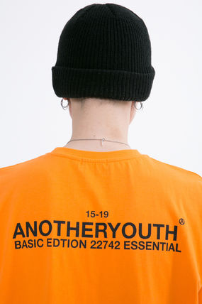 ANOTHERYOUTH More T-Shirts Unisex Street Style Cotton Oversized T-Shirts 16