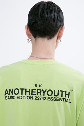 ANOTHERYOUTH More T-Shirts Unisex Street Style Cotton Oversized T-Shirts 20