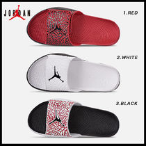 Nike AIR JORDAN Street Style Shower Shoes Shower Sandals